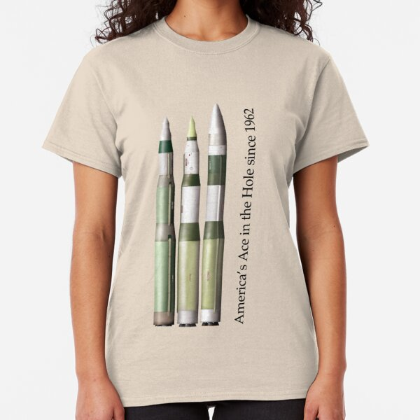 Ace in the Hole - the Minuteman III series (MM1, MM2, MM3-early) Classic T-Shirt