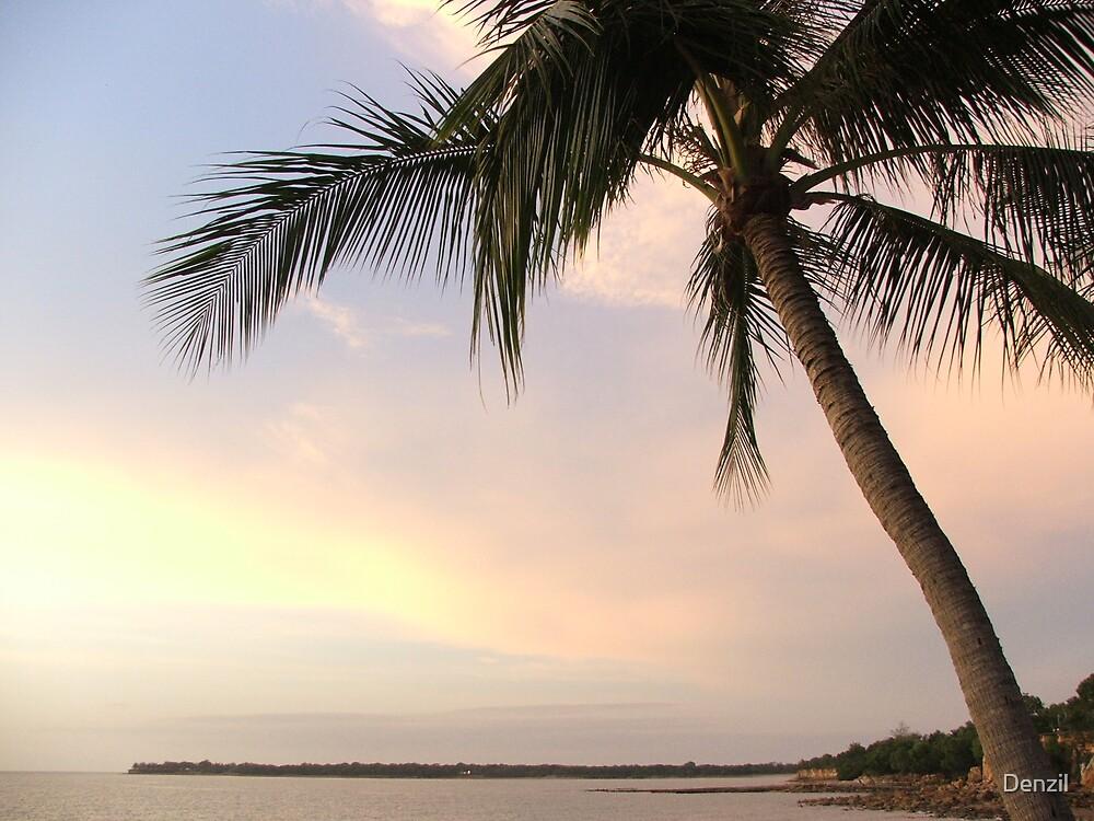 sunset Darwin by Denzil