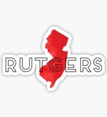 Rutgers Geofilter Sticker