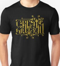 Create Destroy Ambigram Unisex T-Shirt