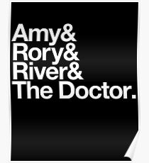 Amy & Rory & River & The Doctor. Poster