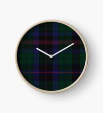 Phillips of Wales Clan/Family Tartan  Clock