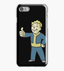 Vault boy #4 iPhone Case/Skin