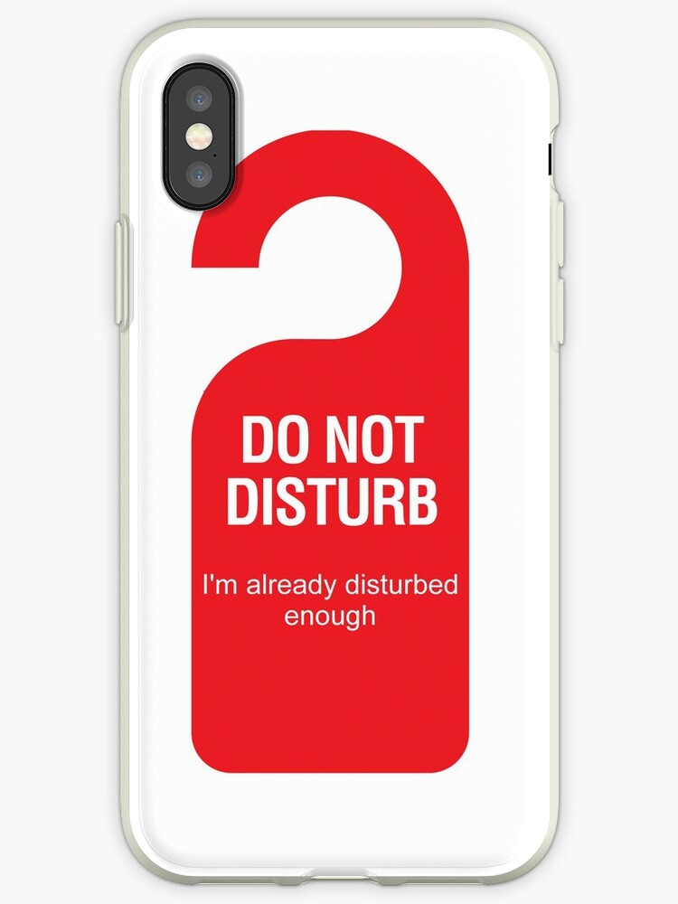 'Disturb sign synonym movie bebo best game disturbed symbol konrath' iPhone  Case by lucianobdn