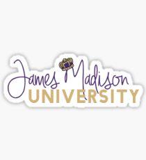 James Madison University Geofilter Sticker
