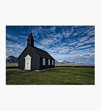 The Budir Church Photographic Print