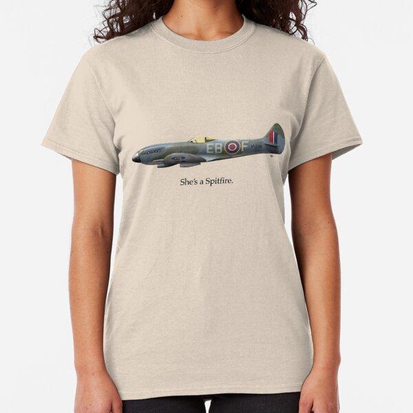 She's a Spitfire Classic T-Shirt