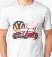 Rallycross 2017 Volkswagen VW Beetle German Unisex T-Shirt