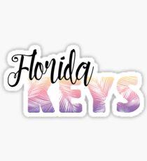 Florida Keys Geofilter Sticker