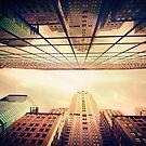 Manhattan Skyline Reflections by Jessica Jenney