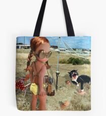 With The Sunman Tote Bag