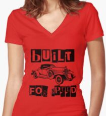 CONVERTIBLE Women's Fitted V-Neck T-Shirt