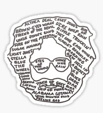 Jerry Garcia Sticker