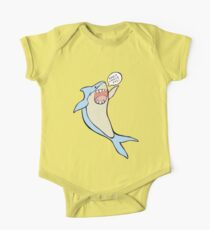 the 'have a lovely day' shark One Piece - Short Sleeve