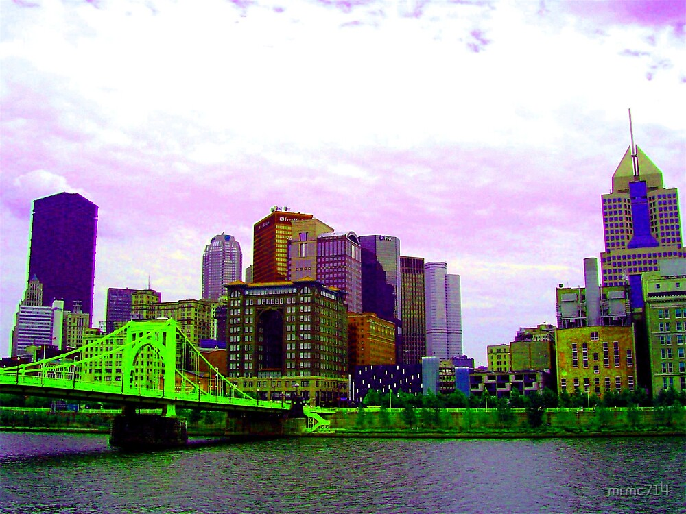 my city pgh by mrmc714