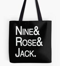 Ninth Doctor Companions Tote Bag