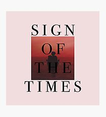 Styles - Sign of the Times Photographic Print