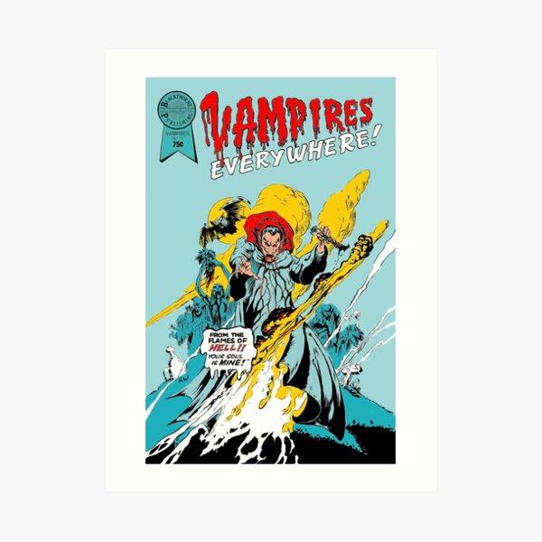 The Lost Boys - Vampires Everywhere Art Print