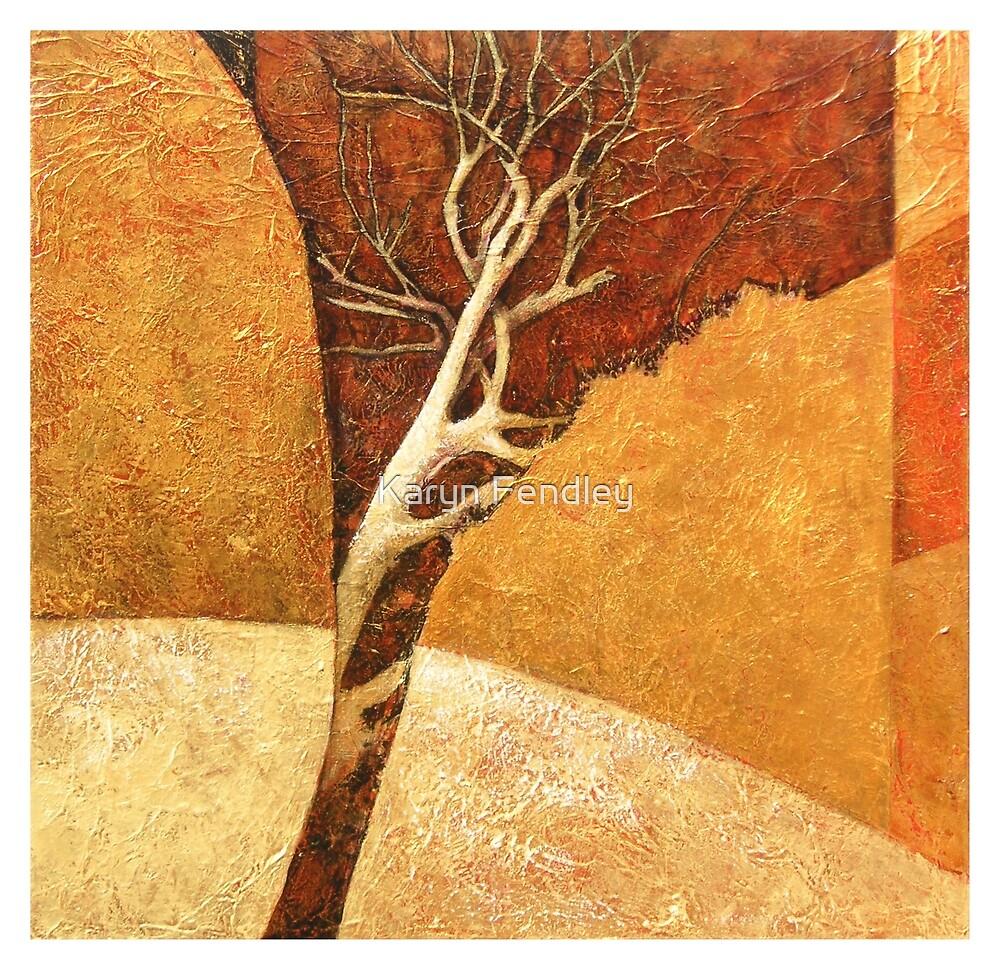 """""""Rocks,Tree,  2"""" by Karyn Fendley"""