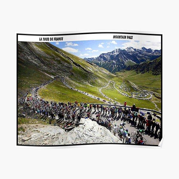 TOUR DE FRANCE: Vintage Bike Racing Print Poster