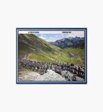 Lámina de exposición TOUR DE FRANCE: Vintage Bike Racing Print