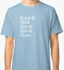 Eleventh Doctor Companions Classic T-Shirt