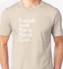 Eleventh Doctor Companions Unisex T-Shirt