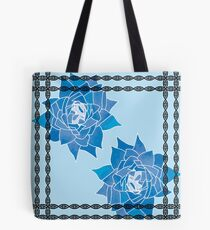 Art Nouveau Inspired Winter Tote Bag