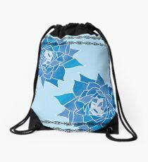 Art Nouveau Inspired Winter Drawstring Bag