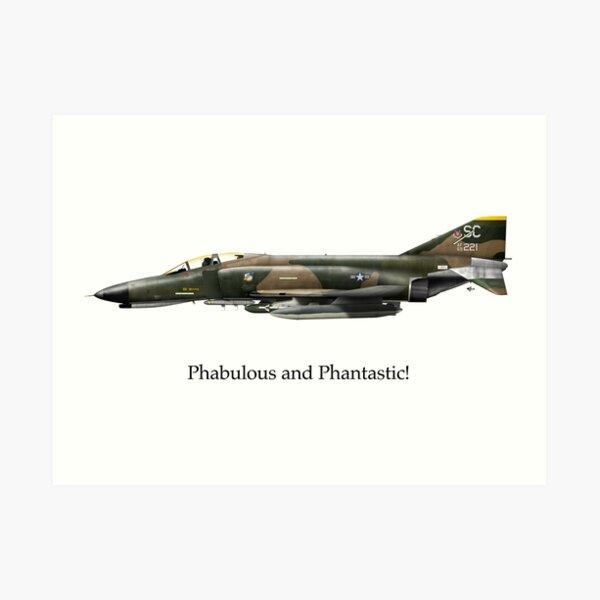 F-4 Phantom - Phabulous and Phantastic! Art Print