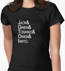Torchwood Team Women's Fitted T-Shirt