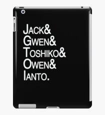 Torchwood Team iPad Case/Skin