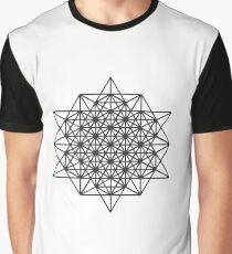 Isotropic Vector Matrix Graphic T-Shirt
