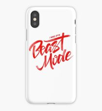 Beast Mode - Red - Big Sean iPhone Case