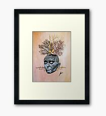 Our thicket brain Framed Print