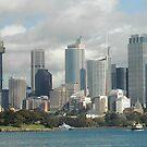 sydney skyline by Bruce  Dickson