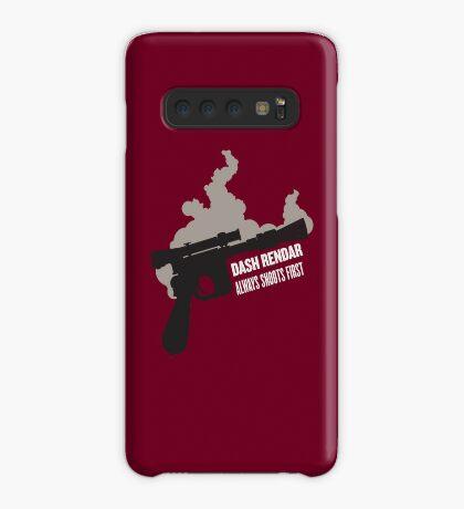 Dash Rendar ALWAYS Shoots First Case/Skin for Samsung Galaxy