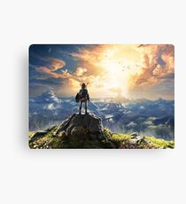 Zelda : Breath of the Wild Canvas Print