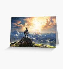 Zelda : Breath of the Wild Greeting Card