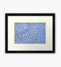 Vincent Blue Framed Print