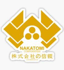 Los Angeles Nakatomi Corporation Sticker