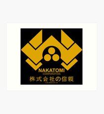 Los Angeles Nakatomi Corporation Art Print