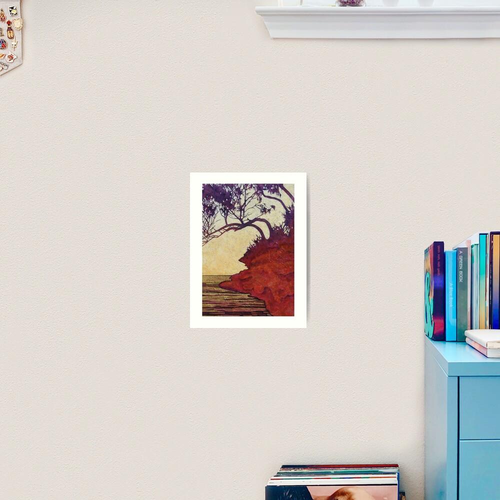 Red Cliff She-Oak Art Print