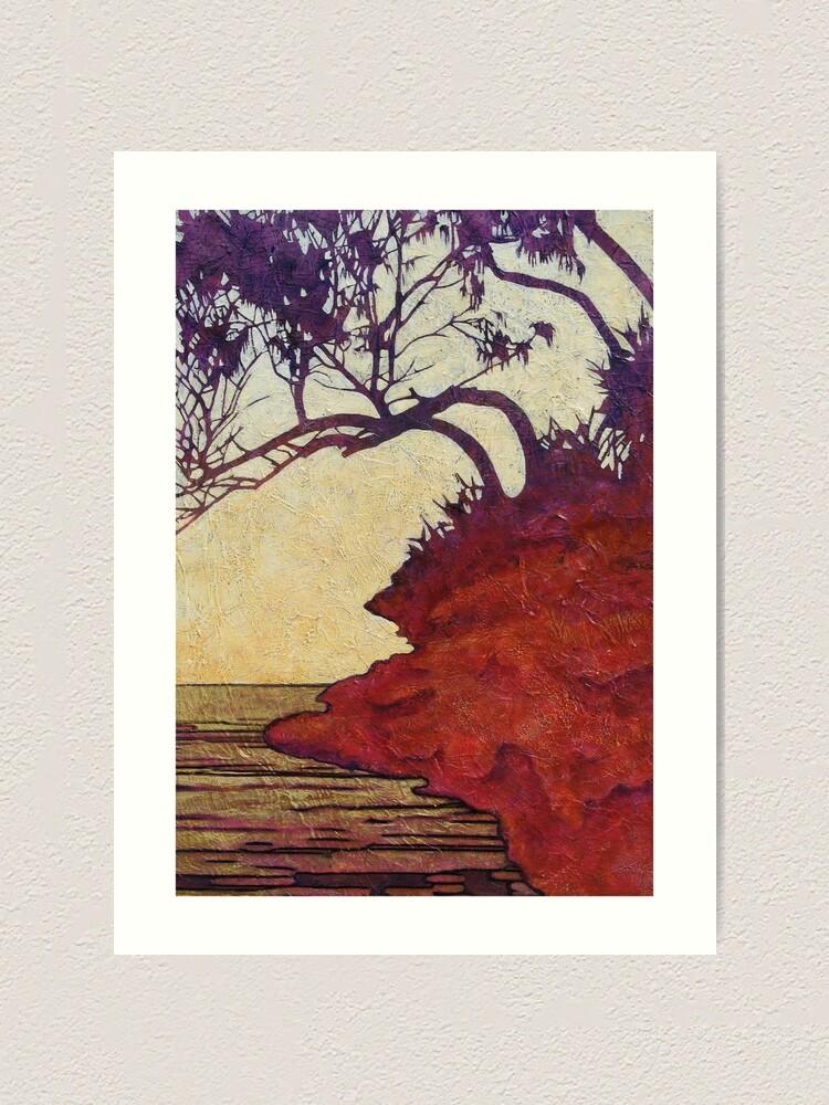 Alternate view of Red Cliff She-Oak Art Print