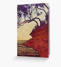 Red Cliff She-Oak Greeting Card