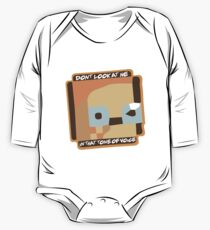 Dont Look At Me (In That Tone Of Voice) One Piece - Long Sleeve