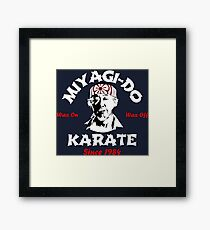 Dojo Karate Miyagi Do Framed Print