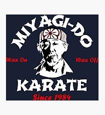 Dojo Karate Miyagi Do Photographic Print
