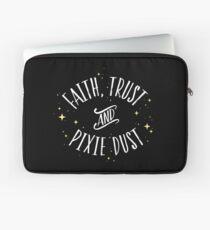 Faith Trust and Pixie Dust // Peter Pan Tshirt Laptop Sleeve