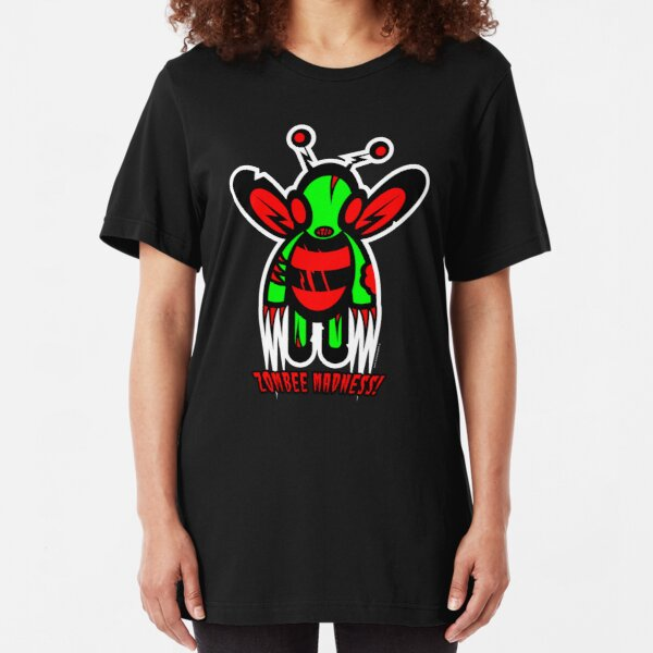 zombee madness!!! Slim Fit T-Shirt
